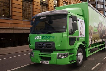 Pets At Home Lorry